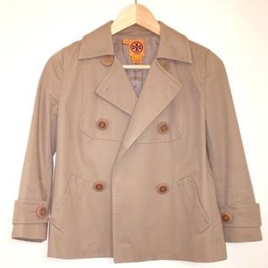 Jackets & Blazers - Tory Burch khaki jacket
